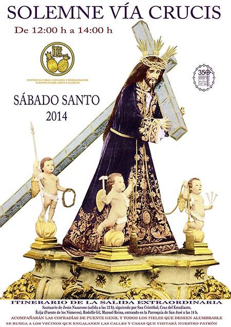 Via crucis Jesus Nazareno